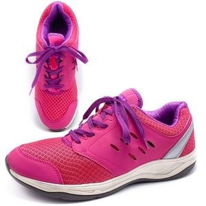Vionic Venture 9.5 Hot Pink Sneakers Walking Shoes